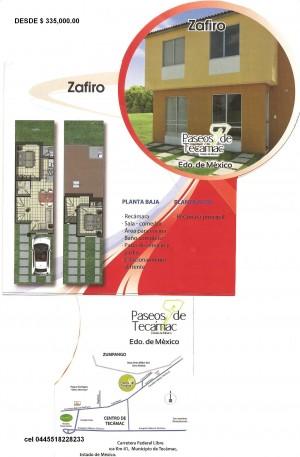 casas amplias y economicas en paseos de tecamac