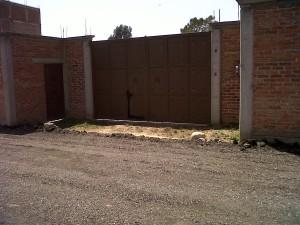 terreno bardeado y con cisterna en tepotzotlán, estado de méx.