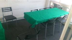 sala de juntas / aula en renta por hora