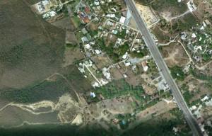 terreno sobre carretera nacional 10,000 m2 a $6000 m2.