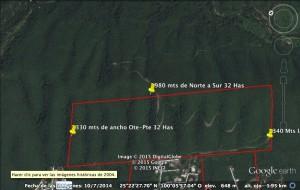 terreno bosques de las lomas en santiago nuevo leon 32.5 hras $680 m2