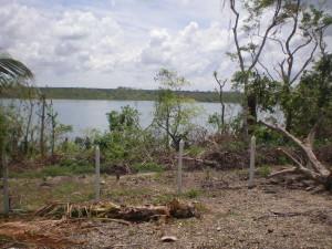 terreno con vista a la laguna