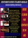 Rento departamento en Morelia
