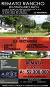 Remato Hermoso Rancho en Zitácuaro, Mich.