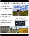 Vendo Terreno Comercial en Morelia
